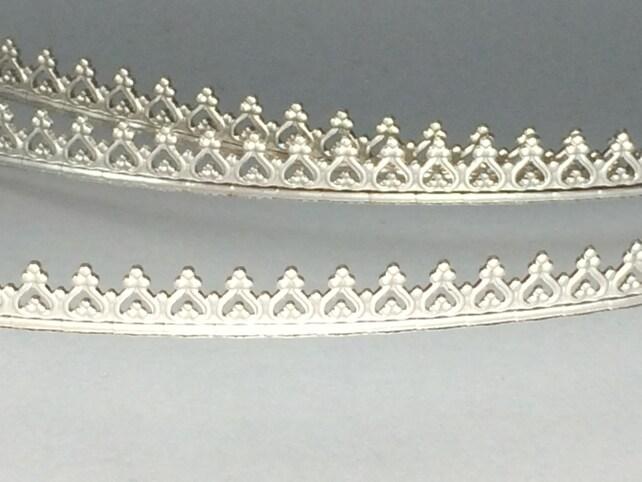 18 Zoll Silber-Galerie-Draht für Zargenfassung Abmessung | Etsy