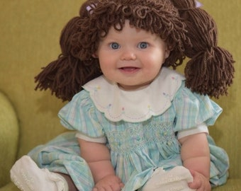 Cabbage patch kid diy costume.