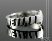 To our Future Mens Sterling Silver Band