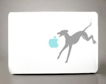 Greyhound Decal Apple Macbook Laptop