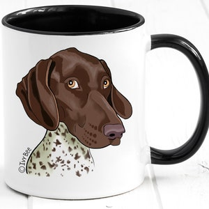 Pointer Lover Funny German Shorthaired Pointer Gifts Pointer Dog Pointer Owner C-54C Pointer Mom Dad Pointer Tumbler Travel Mug Cup