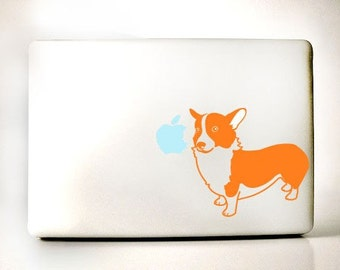 Corgi Decal Laptop Macbook