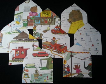People, Places, Things Upcycled Envelopes