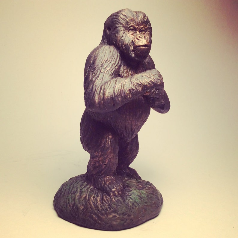 Mountain Gorilla baby sculpture statue