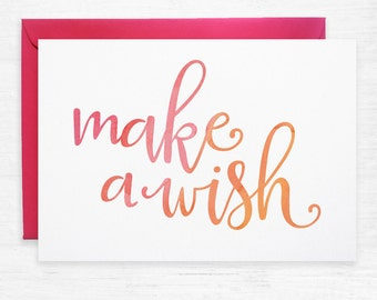 Make-A-Wish Watercolour Greeting Cards – Pack of 10