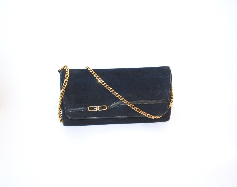 0bcbe53d9b28 Gucci Suede Chain Bag – Hanna Oaks