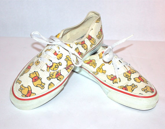 fe7b87839e005e Vintage VANS Winnie the Pooh Disney USA Made Original Sneakers
