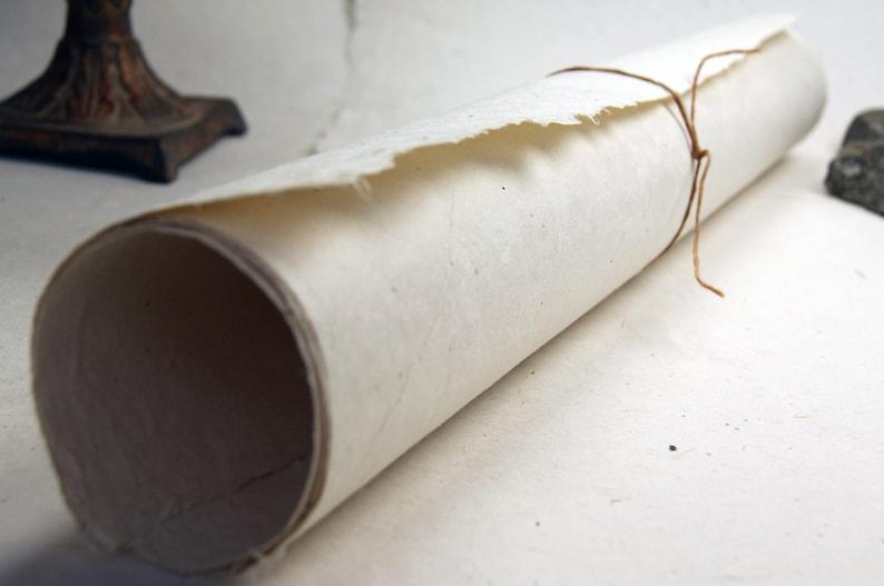 Natural Seed Paper 20x30 handmade sheet Lotka 50g invitation image 0