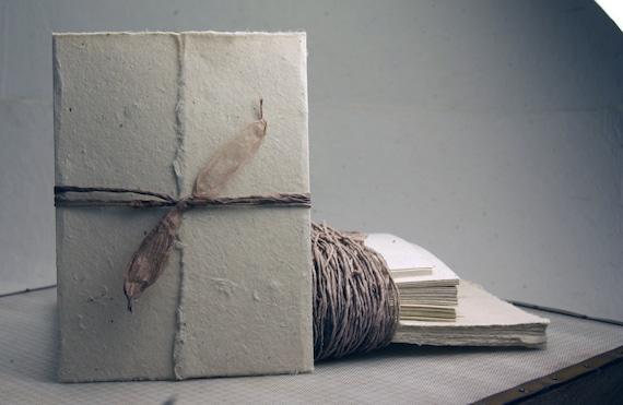 Handmade Seed Paper Invitation Kit 6x9 Natural Seeded Diy Etsy