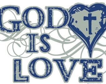 Christian T-Shirts, God is Love