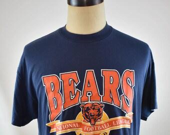 Vintage Chicago Bears National Football League Sz XL