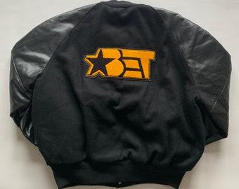 Vintage BET Custom CEO Letterman's Jacket