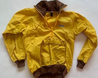 Vintage 1970's MARMOT Half-Zip Windbreaker Jacket Size S