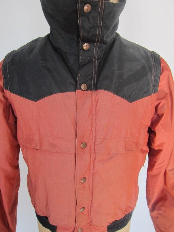 alpinismo giacca giubbotto giù Etsy Western vintage POWDERHORN IfqO5q