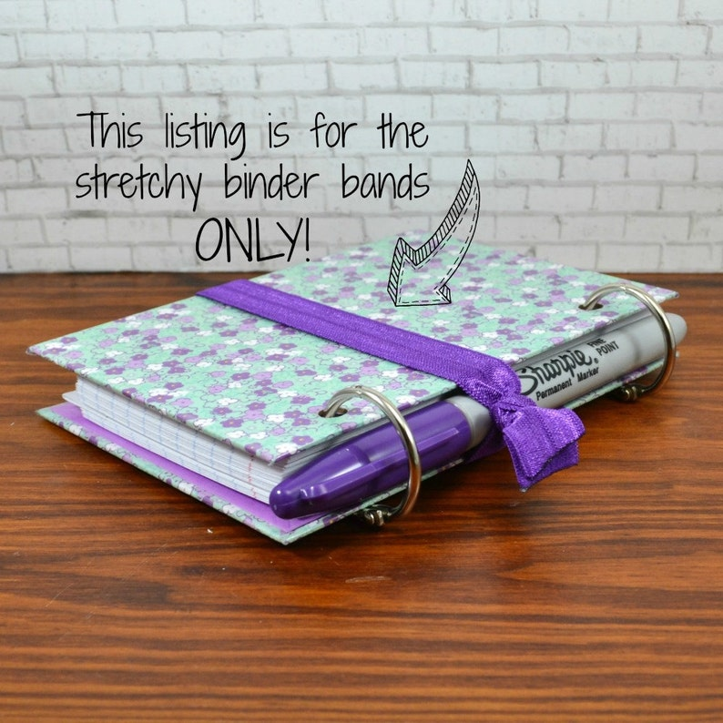 Binder Band Pen Holder for Index Card Binders image 0