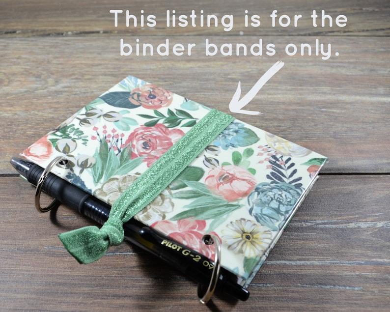 Binder Band Pen Holder for Index Card Binders image 1