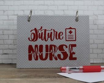 Index Card Binder, Future Nurse Class Notes Holder, Nursing Essentials