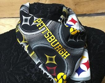 Pittsburgh Steelers printed bandana