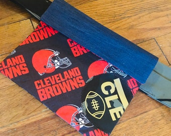 Cleveland Browns patchwork Fanny pack