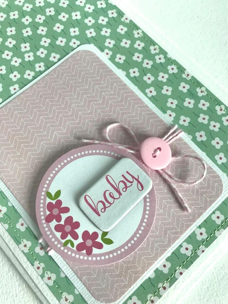 New Baby Girl Handmade Card