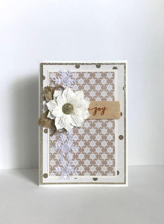 Joy Handmade Card