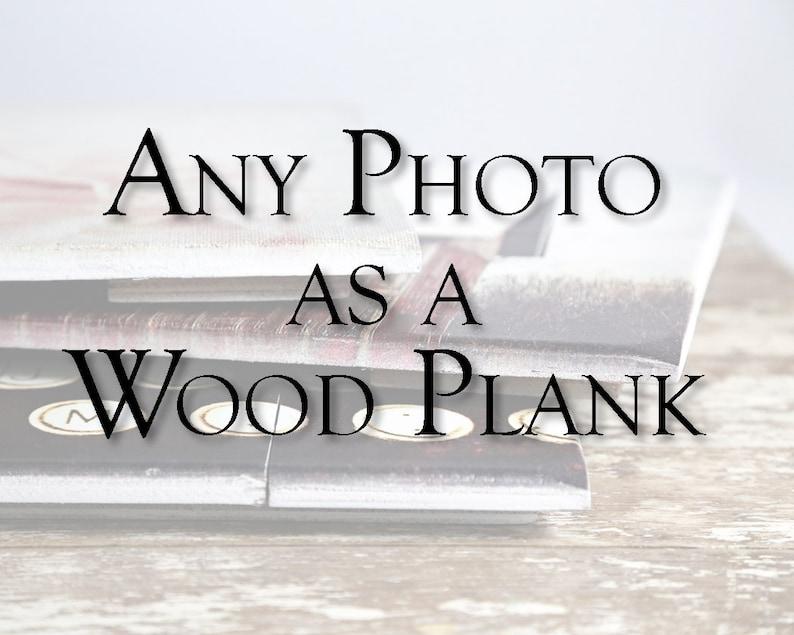 Art on Wood Rustic Home Decor Wood Sign Modern Rustic Wood image 0