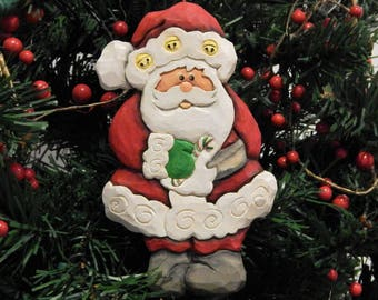 Christmas decor wood carvings curated by the wood carvers of etsy