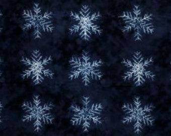 Yuki Seppen Stoff Panel Neibi Debbie Maddy Von Tiori Entwirft Saisonalen  Winter Seppen Panel Dunkelblau
