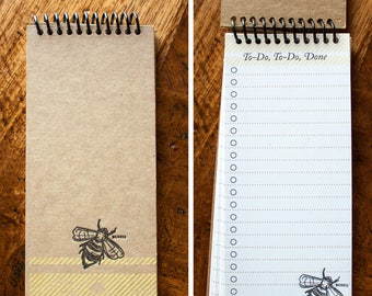 Busy To-Do To-Do and Done - Spiral Journal