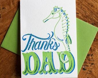 Thanks Dad - Card