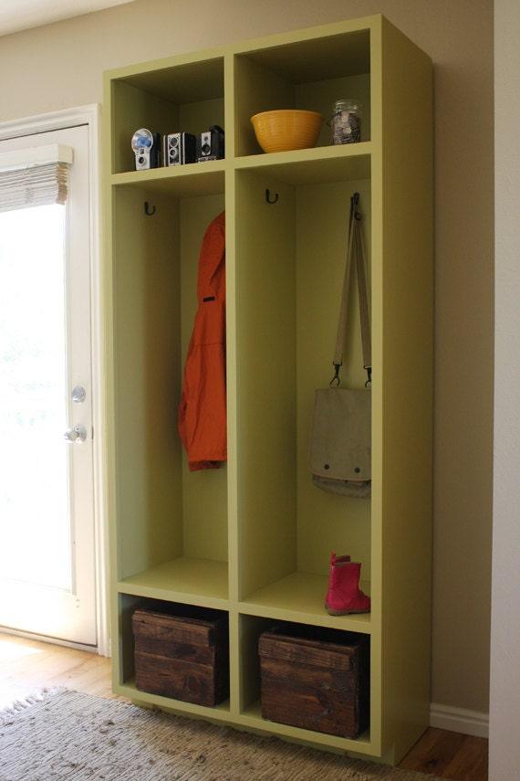 Beau Mudroom Storage Lockers Woodworking Plans | Etsy