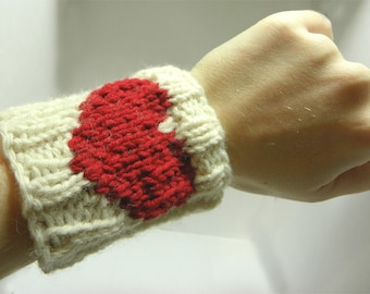 Heart Wrist Warmers