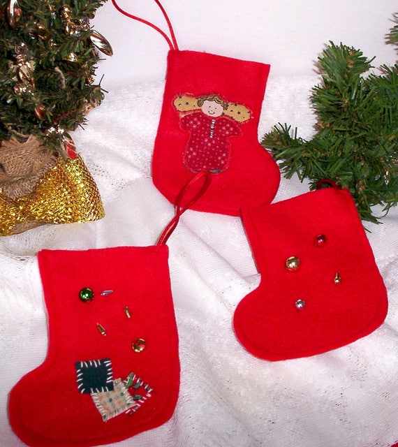 image 0 - Small Christmas Stocking Decorations