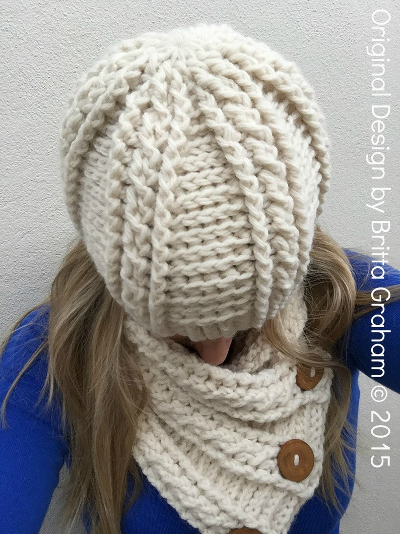 36c410c9c51 Cabled Scarf Crochet Pattern for chunky yarn Fisherman Neck