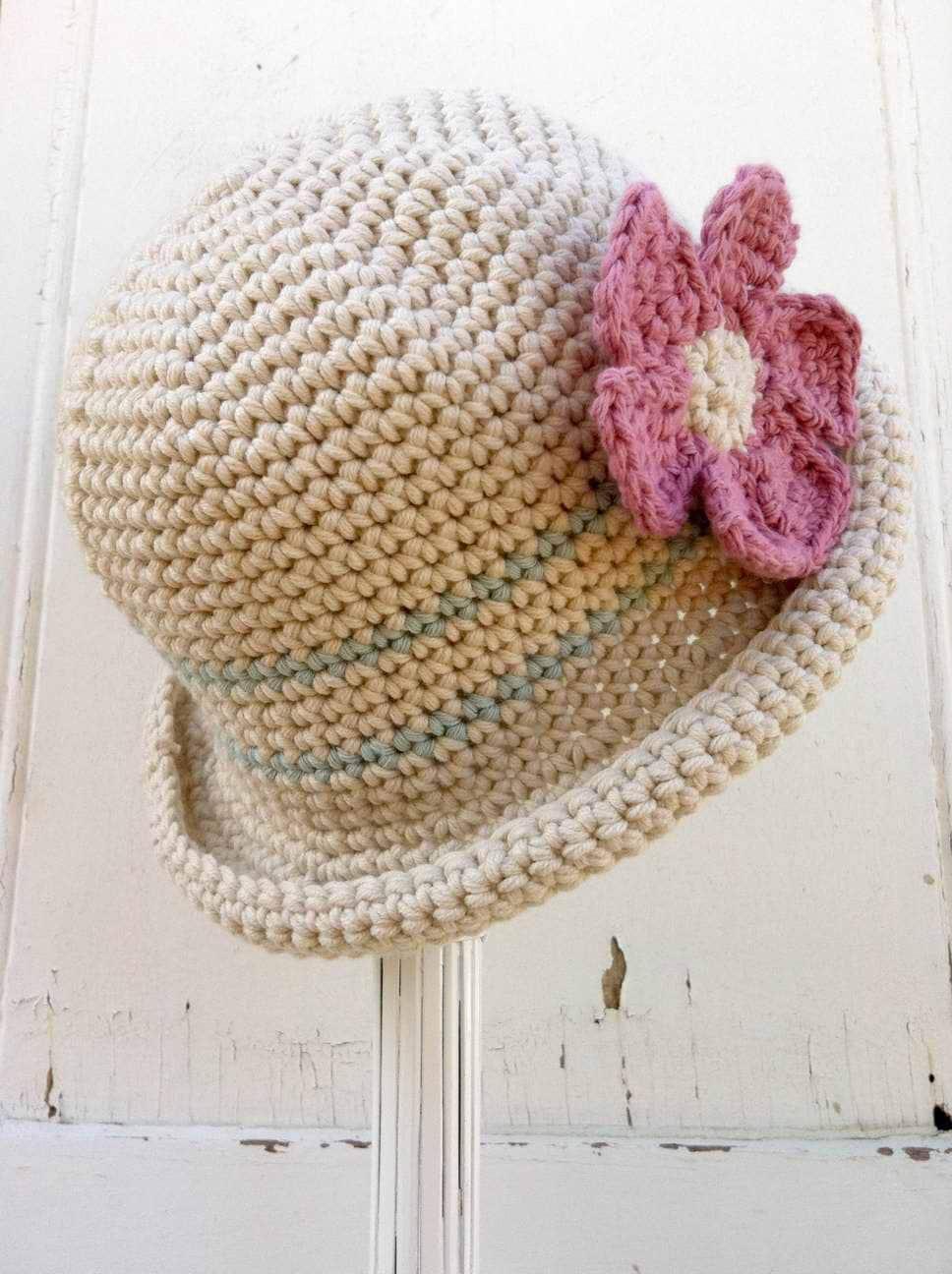 Crochet Hat Pattern Rolled Brim Hat Crochet Pattern No119 Etsy