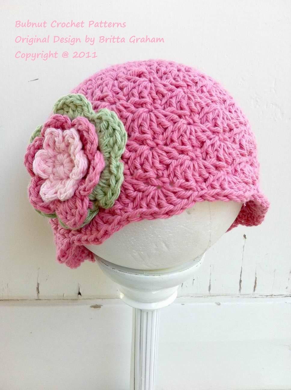 Crochet Hat Pattern Shell Stitch Cap Crochet Pattern No113 Etsy