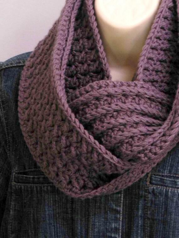 Crochet Scarf Pattern Textured Cowl Crochet Pattern No501 Etsy