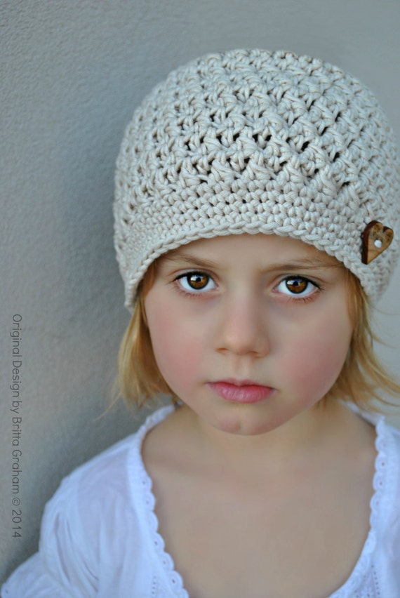 Crochet Hat Pattern In Baby Toddler And Child Sizes Available Etsy