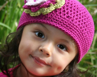 Easy Peasy Crochet Hat Pattern No.101 ALL Sizes from Newborn to Adult Beginner English