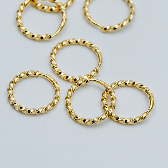 Mixed Plated Iron 0.7 x 4mm Jump Rings Charming Beads HA11685 Packet of 500