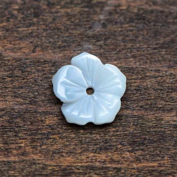 10pcs 8mm Mother of Pearl Shell Flower Beads,Natural Mother Of Pearl Beads,MOP Carved Flower Beads,Shell Flower 5 Petals,Jewelry Making,126