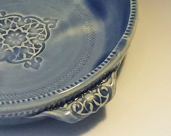 Sky Blue baking dish, that you can bake and serve