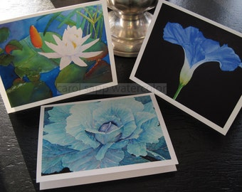 art blank note cards watercolor