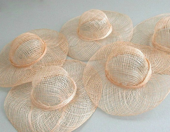 Sinamay Craft Hat 6 Doll Hat 5 Miniature Hats Doll  bfd88fc712e4