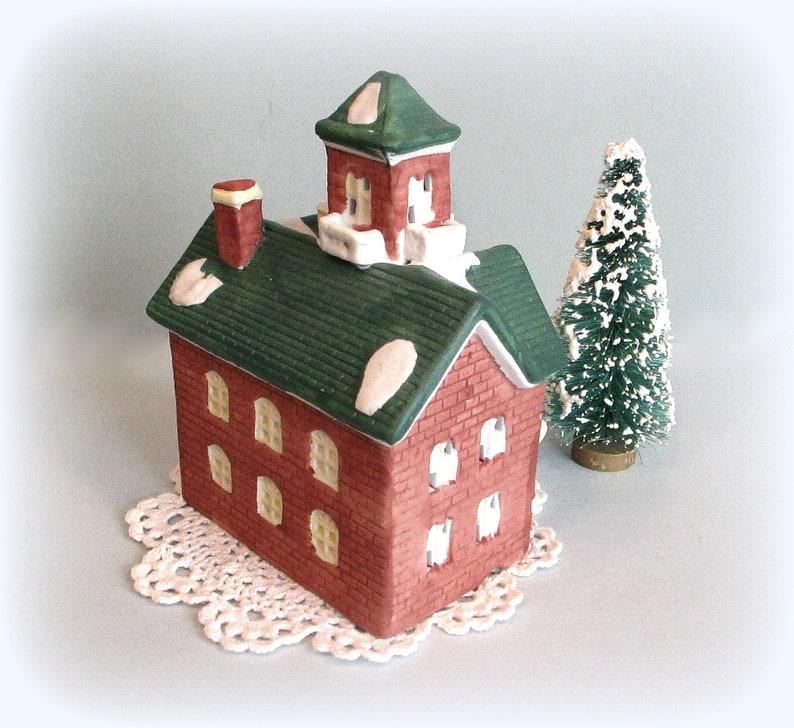Vintage Santa's Best Miniature Ceramic Christmas Village ...
