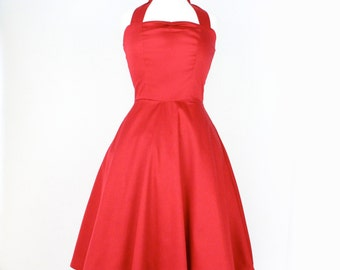 On Sale !!!Red Pinup Full Circle  Dress