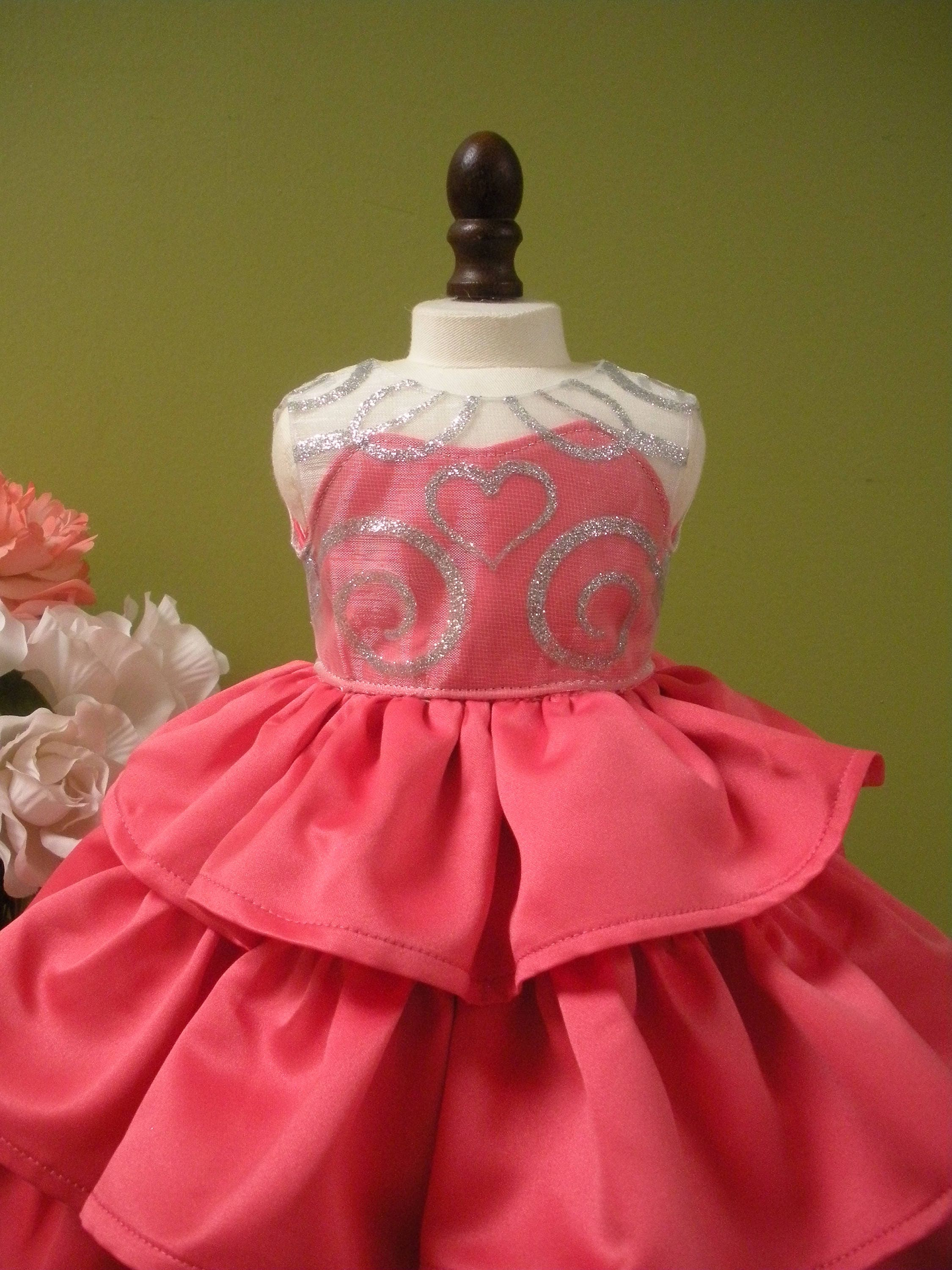 98db57e11ad Quinceanera Dress for American Girl Doll Custom Made Sweet