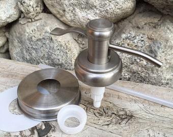 Mason Jar Soap Pump Kit Old Fashioned Well Pump 304 lid
