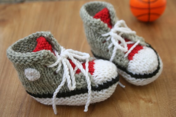 basket converse en tricot