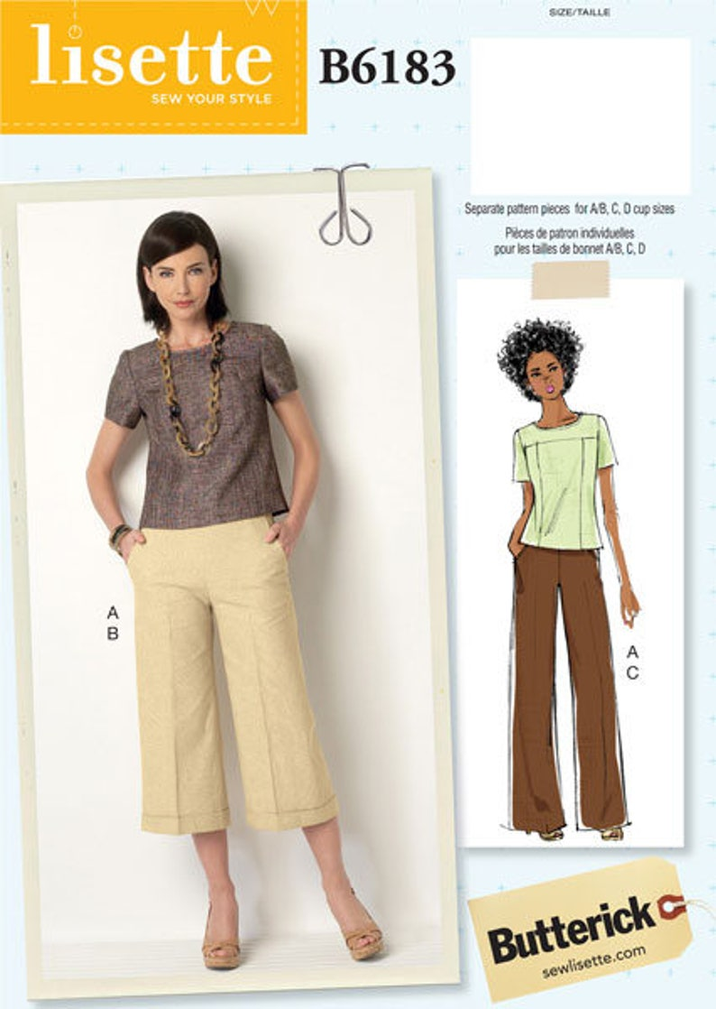 Misses Pull-Over Tops Sewing Patterns sold separately Multi Size /& Styles